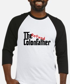 the colon father retired Baseball Jersey