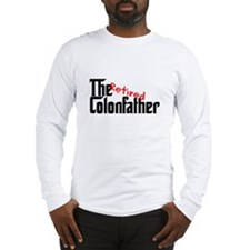 the colon father retired Long Sleeve T-Shirt