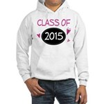 Class of 2015 (butterfly) Hooded Sweatshirt