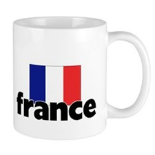 I HEART FRANCE FLAG Mug