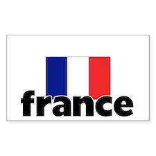I HEART FRANCE FLAG Decal
