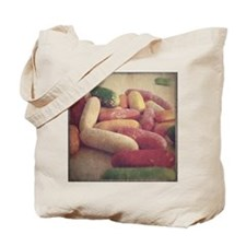 Vintage Style Torpedo Candy Photograph Tote Bag