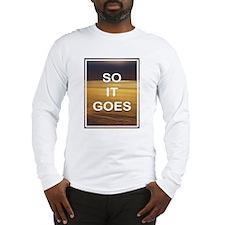 KURT VONNEGUT DESIGN Long Sleeve T-Shirt