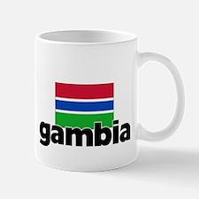 I HEART GAMBIA FLAG Mug