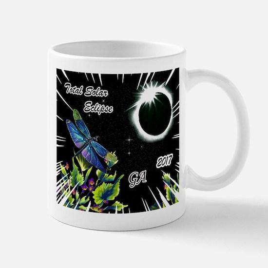 Dragonfly Eclipse_GA Mugs