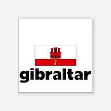 I HEART GIBRALTAR FLAG Sticker