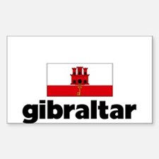 I HEART GIBRALTAR FLAG Decal