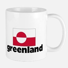 I HEART GREENLAND FLAG Mug