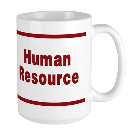 Human Resource Large Mug