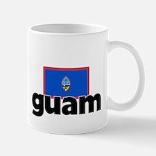 I HEART GUAM FLAG Mug