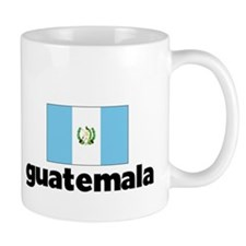 I HEART GUATEMALA FLAG Mug