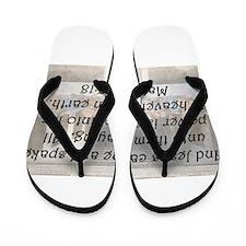 Matthew 28:18 Flip Flops