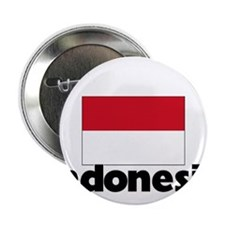"I HEART INDONESIA FLAG 2.25"" Button"