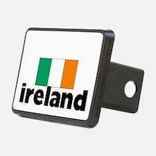I HEART IRELAND FLAG Hitch Cover