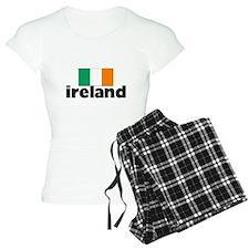 I HEART IRELAND FLAG Pajamas