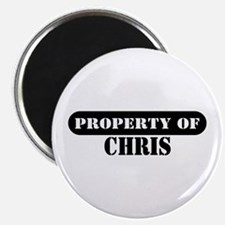 Property of Chris Magnet