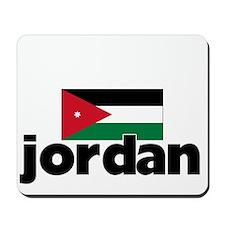 I HEART JORDAN FLAG Mousepad