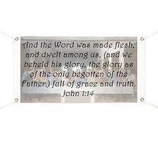 John 1:14 Banner