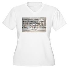 John 1:14 Plus Size T-Shirt