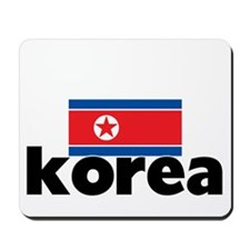 I HEART KOREA FLAG Mousepad