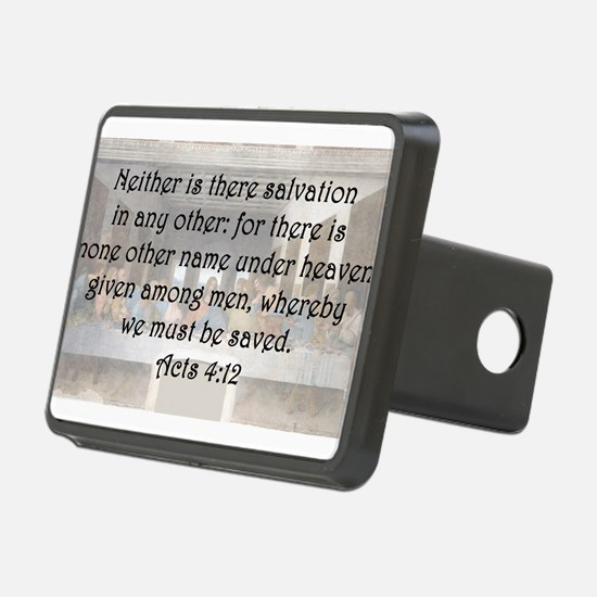 Acts 4:12 Hitch Cover