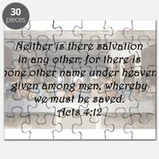 Acts 4:12 Puzzle