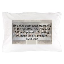 Acts 2:42 Pillow Case