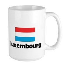 I HEART LUXEMBOURG FLAG Mug