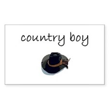 country boy.bmp Decal