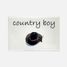 country boy.bmp Rectangle Magnet