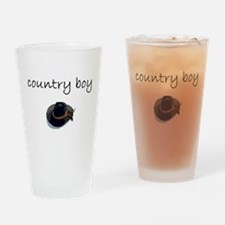 country boy.bmp Drinking Glass