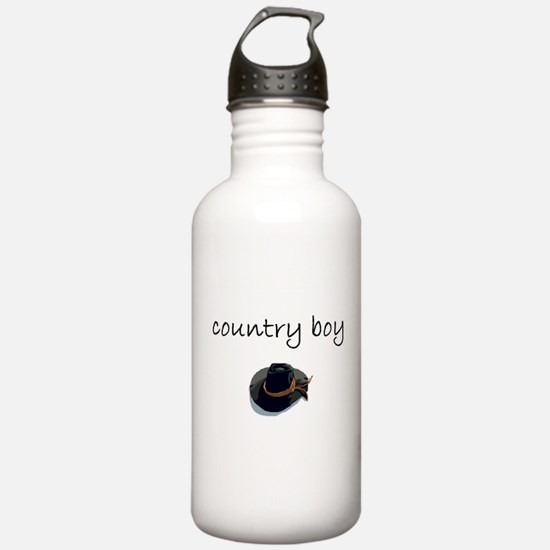 country boy.bmp Water Bottle