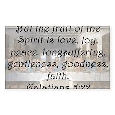 Galatians 5:22 Decal