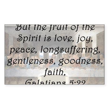 Galatians 5:22 Sticker