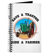 Save a Tractor, Ride a Farmer Journal