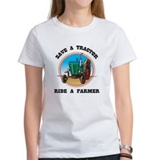 Save a Tractor, Ride a Farmer Tee