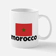 I HEART MOROCCO FLAG Mug