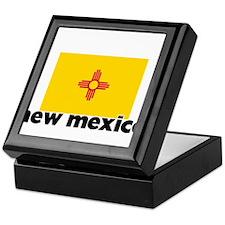 I HEART NEW MEXICO FLAG Keepsake Box