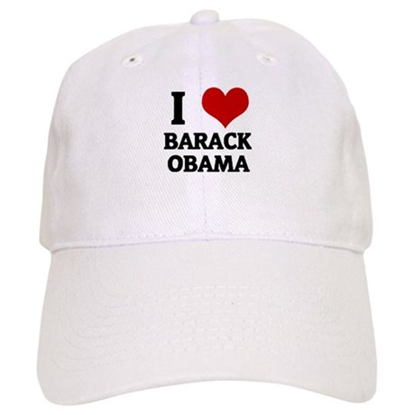 I Love Barack Obama Cap
