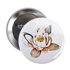 "White Lotus 2.25"" Button"