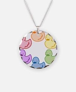 duckie-rainbow-row_tr2.png Necklace