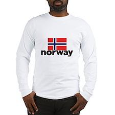 I HEART NORWAY FLAG Long Sleeve T-Shirt