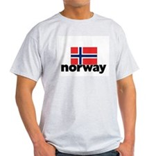 I HEART NORWAY FLAG T-Shirt