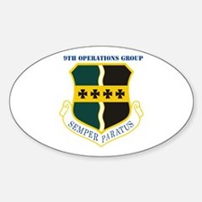 9th Operations Group with Text Decal