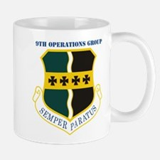 9th Operations Group with Text Mug