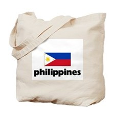 I HEART PHILIPPINES FLAG Tote Bag
