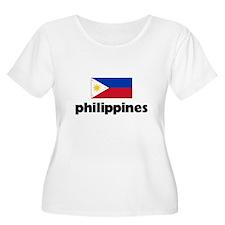 I HEART PHILIPPINES FLAG Plus Size T-Shirt