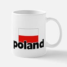 I HEART POLAND FLAG Small Small Mug