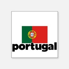 I HEART PORTUGAL FLAG Sticker