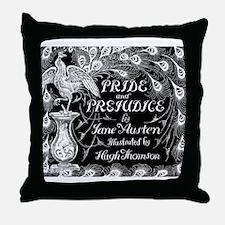 Pride & Prejudice Jane Austen Peacock Book Cover B